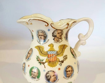 Vintage Chadwick-Miller Presidential Pitcher