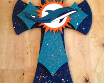 Miami Dolphins Wall Cross