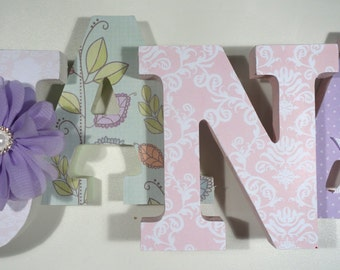 Wooden alphabet letters nursery, wooden letters for nursery