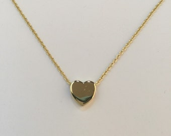 Sterling silver heart love pendant necklace;heart pendant necklace;heart necklace;love necklace