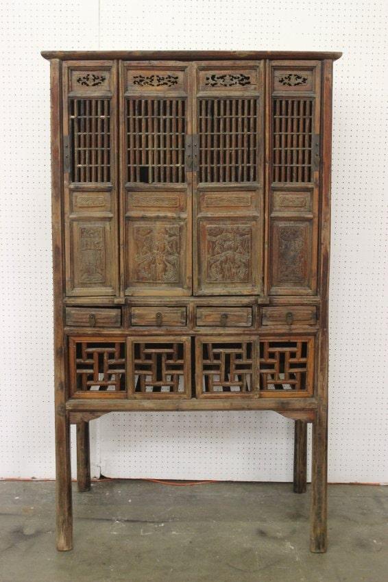 Beautiful Antique Century Furniture Dining Room Table And: Beautiful Antique Chinese 17th/18th Century Yu Wood