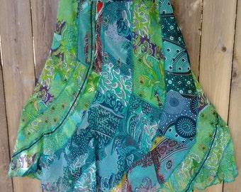 15. Vintage Flowing Skirt