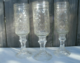 Redneck Wine Glasses (4) Four