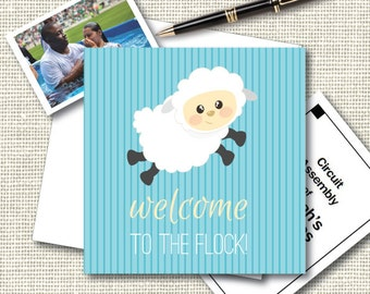 Welcome To the Flock! JW Baptism Card, Congratulations.