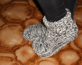 Slippers in the knitting - free forwarding charges