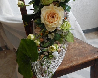 Flowers roses and Ranunculus