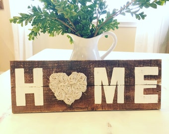 Home wood sign, Wood sign, Home sign, home decor, Wooden sign