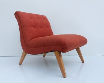 Jens Rison  For Knoll  Slipper  Chair.