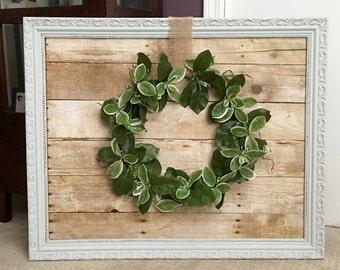 Shabby Chic Wreath Frame
