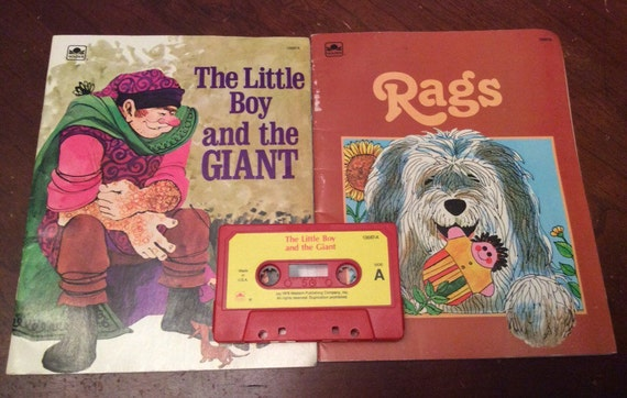 SAVE 25% WITH CODE: SAVE25 Rags & The Little Boy and the Giant Book Set and Cassette