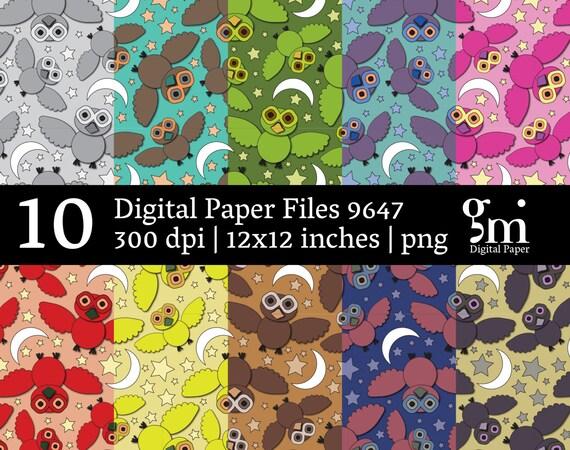 Instant Download Digital Paper Pack Digital Collage