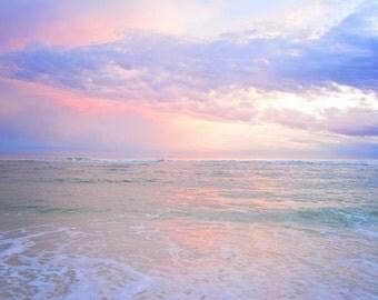 Serenity / Beach Photography / Sunset / Beach Decor / Beach Print / Florida