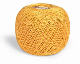 LILY Yarnart 100% mercerized cotton yarn for crochet and knitting 50g - 225m