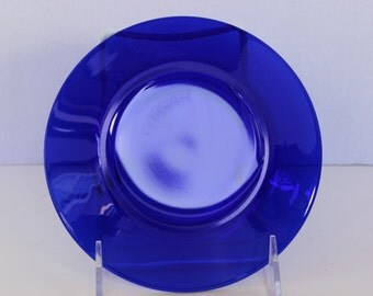 """Vintage (1) Coblt Blue 6"""" Plate"""