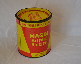 Old Dutch maggi Tin, 500 cubes