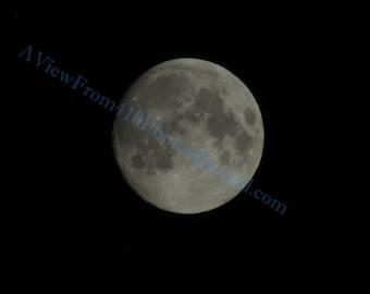 Moon 3 Photograph JV