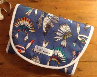 Universal Pram Liner, Stroller Liner, Buggy Liner - 100% Cotton - Little Indian