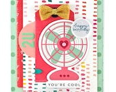 Girls Birthday Card - Teen Birthday Card - Pun Birthday Card - Special Friend Birthday Card - Birthday Wish Card - You're Cool - Biggest Fan