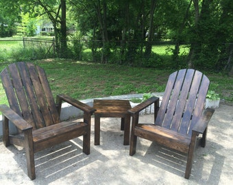 NASHVILLE AREA ONLY - Matching Adirondack Table