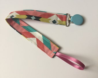 Handmade Binky Clip (other patterns available)