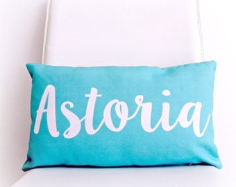 Name Pillow Personalized Pillow Name Art Kids Pillow Childrens Pillow Kids Room Decor Nursery Pillow Girls Room Boys Room Personalized Gift