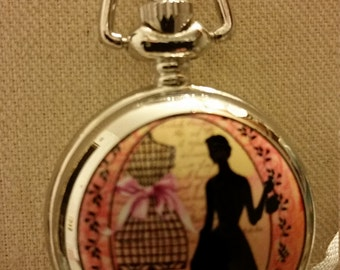 PETITE POCKET WATCH, The Dressmaker, Pendant Watch Necklace