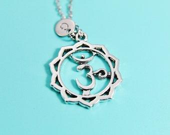 Chakra Sahasrara Pendants Necklace -  Sahasrara Chakra  Necklace - Sahasrara Necklace - Personalized - Initial Necklace - Initial Jewelry