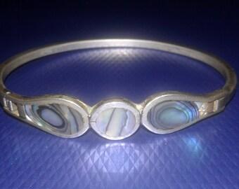 Vintage Alpaca Mexico bracelet