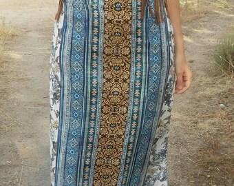 Maxi skirt bohemian