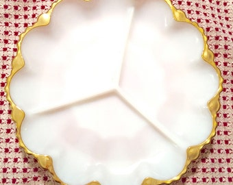 Hearts of Hearts 1960s Cookie Serving Plate