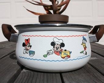 Walt Disney Production Enamel pot