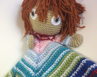Chucky Doll Baby Security Blanket