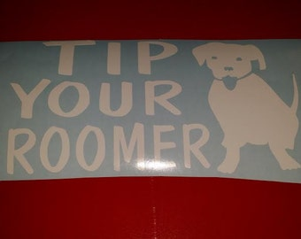 Tip Your Groomer Decal