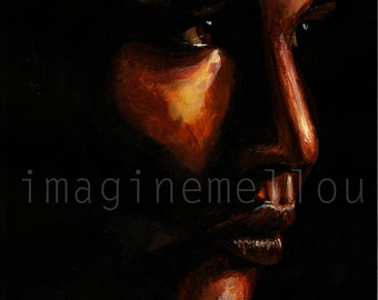 Katniss Everdeen acrylic painting ORIGINAL
