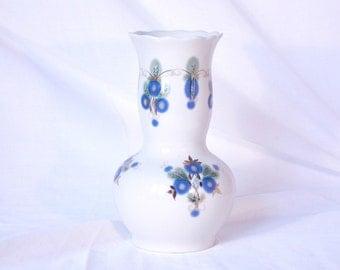 Soviet porcelain retro vase Vintage ceramic vase Vintage home decor Vase collection Antique vase Authentic vase Russian retro home decor