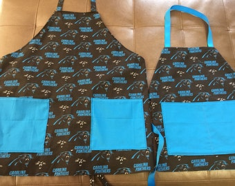 Carolina Panther's Adult Aprons