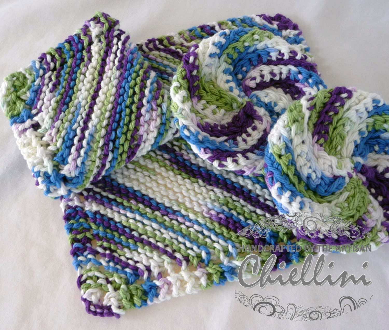 Knitting Granny Dishcloth : Knitted dishcloths grandma s favorite