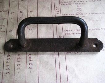 rusty door handle