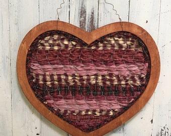 Rustic Chicken Wire Heart