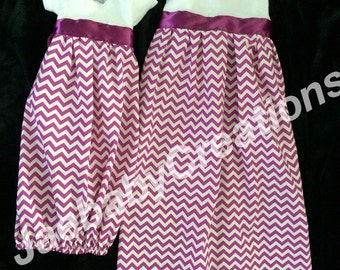 Sissy and me purple chevron maxi dress and layette
