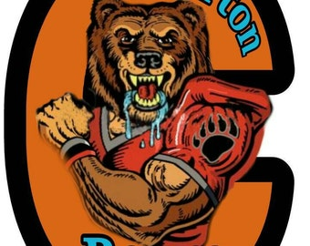 Clairton Bear T-shirt With Out The Background