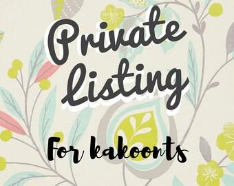 Private Listing for KaKoonts | Kids Tee (Tshirt)