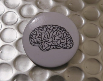 Pin Badge - Human Brain (Lateral) Anatomy