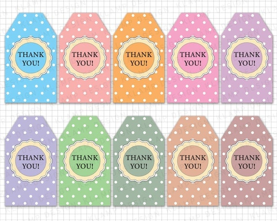 Exceptional image throughout thank you tags printable