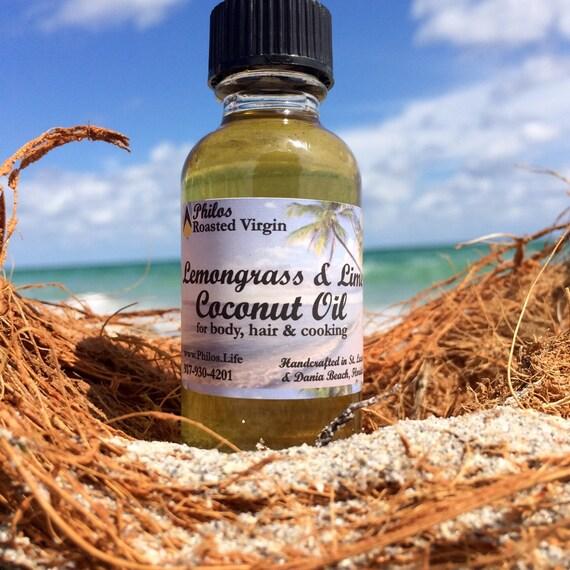 Lemongrass & Lime Peel Coconut Oil