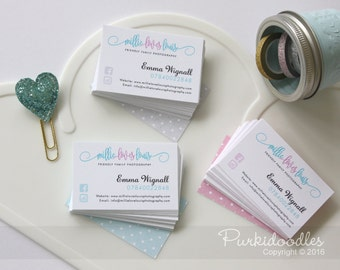 Business Cards - customised with your company branding