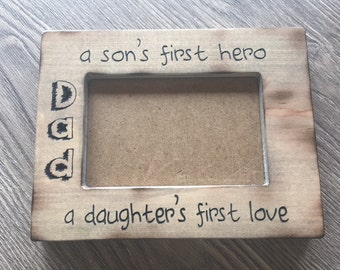 Picture Frame Custom Mother's Day Father's Day Special Occasion