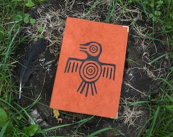The raven book, travel journal explorer notebook