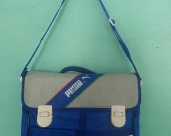 Bolsa bandolera Puma vintage años 80 / vintage Puma shoulder bag