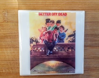 Single Tile Drink Coaster Better of Dead 80s Movie Coaster